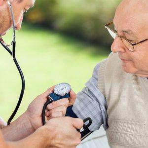Senior Citizen's Health Check up
